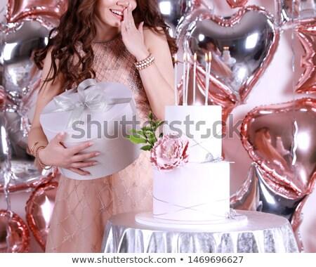 silver party ballooons stock photo © creisinger