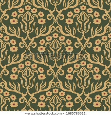 Vintage барокко вектора королевский текстуры цветок Сток-фото © frimufilms