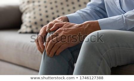 hand · medische · geneeskunde · pijn · menselijke · chirurgie - stockfoto © colematt