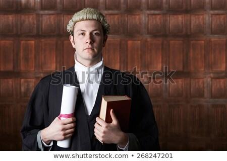 портрет мужчины адвокат суд короткий Сток-фото © HighwayStarz