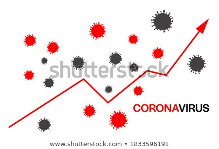 Increasing Coronavirus Cases Graph Arrow Concept Stock photo © ivelin