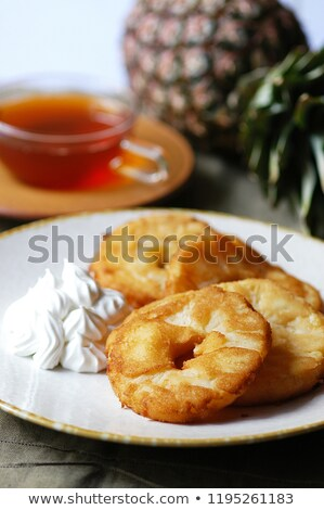 Baked pineapple Stock photo © Alex9500