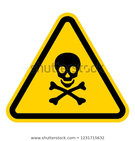 Nuclear dangerous sign Stock photo © jordygraph