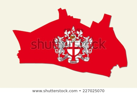 Stock photo: London coat of arms