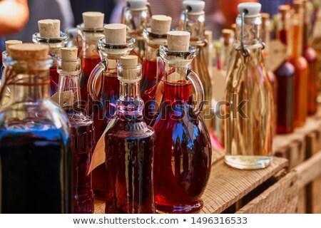 ликер бутылку студию фотографии свет Сток-фото © prill