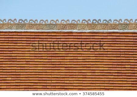 アジア 寺 屋根 ロイヤル 宮殿 ソウル ストックフォト © dsmsoft