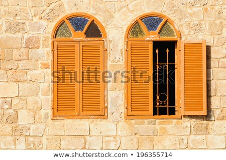 arabian shutter and window stock photo © smithore