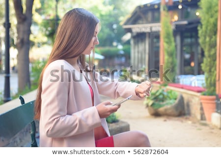 woman waiting for a meeting Stock photo © photography33