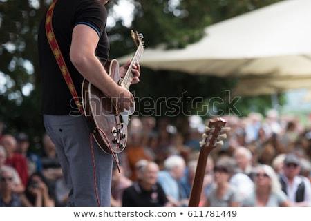 Outdoor Concert Сток-фото © njaj