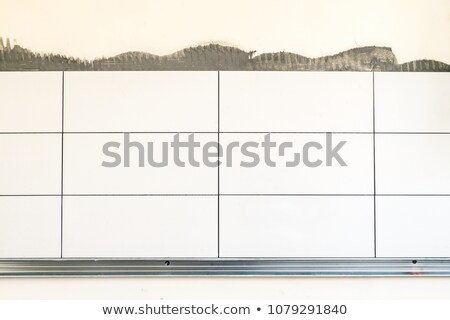 Tiler with a blank board Stock photo © photography33