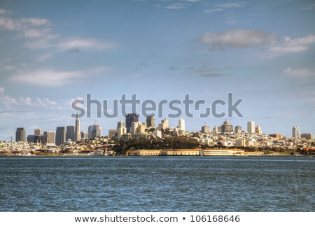 centre-ville · San · Francisco · ville · bâtiments · Skyline · architecture - photo stock © andreykr
