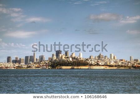 Photo stock: Centre-ville · San · Francisco · matin · plage · eau
