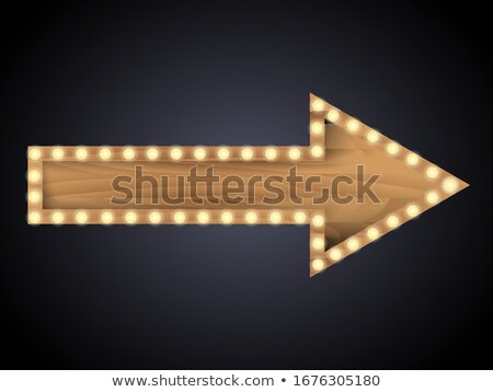 Rough wooden pointer stock photo © pzaxe