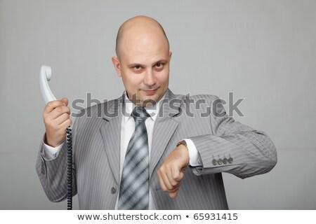 angry bald businessman stock photo © photography33