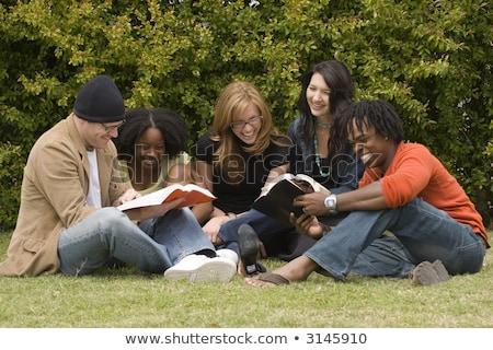 Adult Ed Study Group Stock photo © lisafx