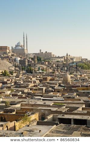 város · halott · citadella · Kairó · Egyiptom · tájkép - stock fotó © travelphotography