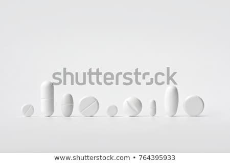 pills isolated on white background stock photo © shutswis