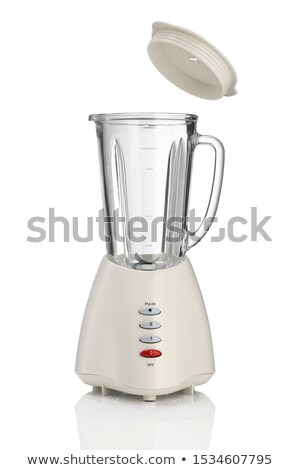 an electric blender on a white background stock photo © shutswis
