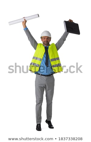 An ecstatic architect. Stock photo © photography33
