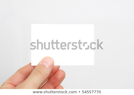 Executive with a blank businesscard Stock photo © photography33