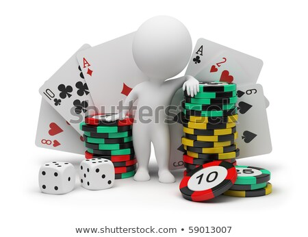 3d small people - casino stock photo © AnatolyM