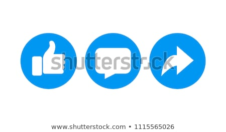 Amor post iconos mail vector Foto stock © Aiel