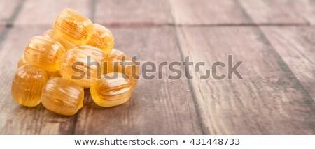 Azucarado miel frescos amarillo primer plano frutas Foto stock © RuslanOmega