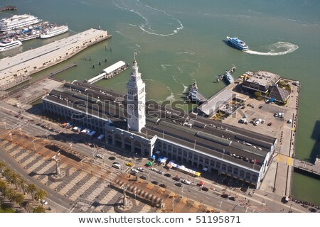 San Francisco Ferry Terminal Clock Tower Stock photo © bigjohn36