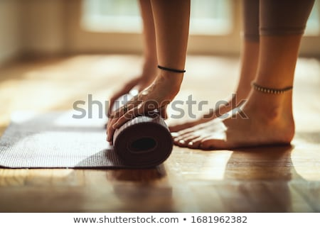 Yoga mat Stock photo © indie