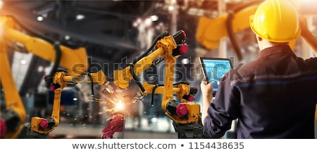 tête · échange · affaires · réunion · hommes - photo stock © lightsource
