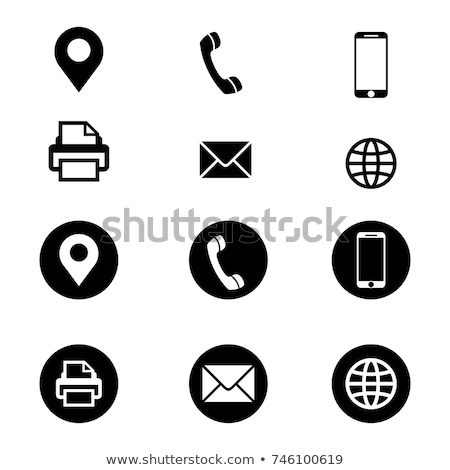 Telefon · Fax · Illustration - stock foto © qiun