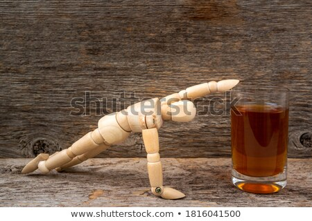 Man Reaching For the Liquor Bottle Stock photo © ArenaCreative