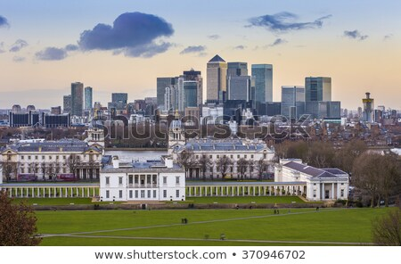 View of Docklands from Greenwich Stock photo © chrisdorney