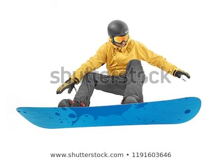 Snowboarding On Air ストックフォト © goir