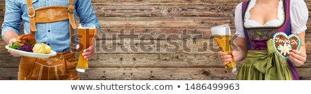 Gingerbread on traditional festival or Oktoberfest Stock photo © Kzenon