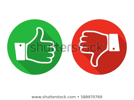 Like and dislike vote Stock photo © Elenarts