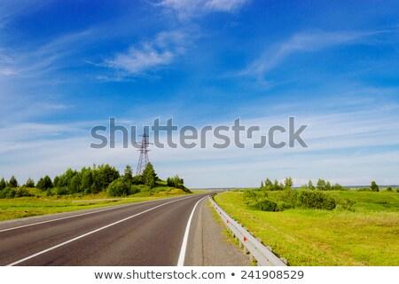 gerilim · kule · mavi · gökyüzü · gökyüzü - stok fotoğraf © meinzahn