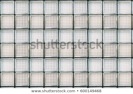 padrão · vidro · parede · blocos · projeto - foto stock © antonihalim