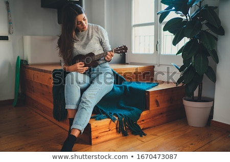 ukulele stock photo © AEyZRiO