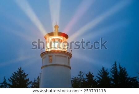 Deniz feneri objektif soyut renkli ışık teknoloji Stok fotoğraf © Frankljr