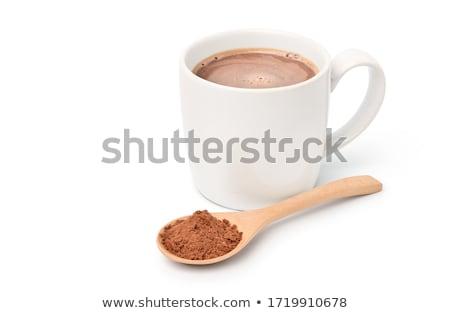 çikolata malt ev sanayi banka alkol Stok fotoğraf © inxti