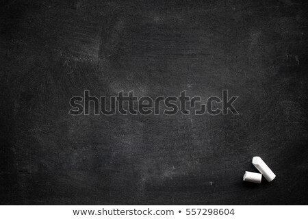 blank blackboard with chalk smudges stock photo © PixelsAway