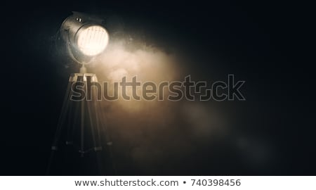 díszkivilágítás · kék · ég · felhők · lámpa · felhő · erő - stock fotó © bmonteny