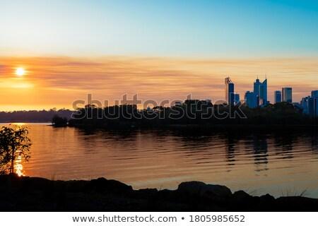 Perth sunset Stock photo © magann
