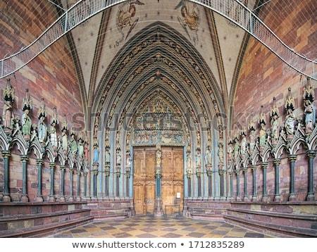 Entrada meridional Alemania edificio pared iglesia Foto stock © meinzahn
