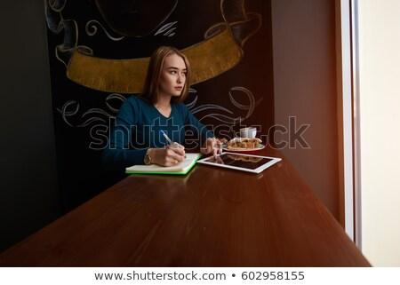 businesswoman making copies l Stock photo © toocan