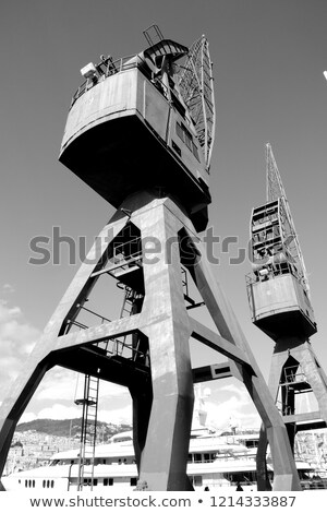 old ship crane stock photo © franky242