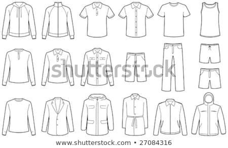 Men's casual clothes and sportswear Stock photo © Mr_Vector