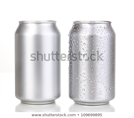 Blank aluminum soda can isolated Stock photo © ozaiachin