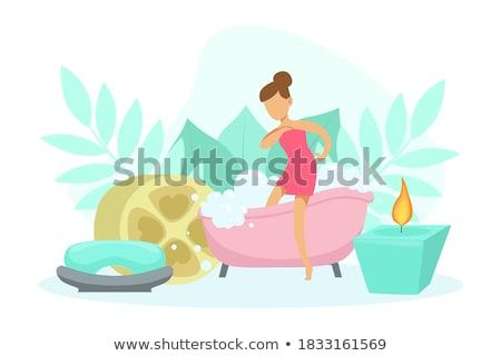 going to take spa bath stock photo © stockyimages